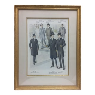 Framed Antique Clothing Line Print, 9 of 14