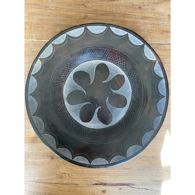 Late 20th Century Terracotta Decorative Plate For Sale - Image 10 of 10