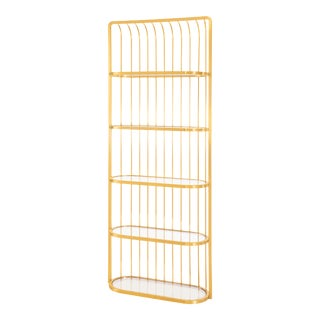 Blink Home, Athens Etagere - Antique Gold For Sale