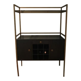 Restoration Hardware Wood & Iron Bar Cart