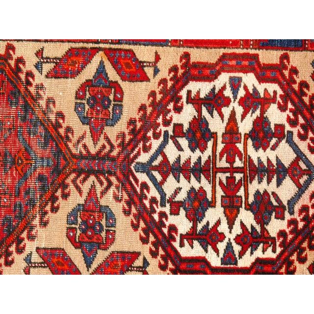 """Pasargad N Y Antique Persian Serab Wool Runner Rug - 3'2"""" X 11'3"""" For Sale - Image 4 of 5"""