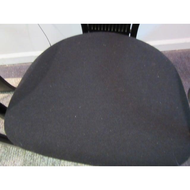 "Black Torstein Nilsen for Westnofa ""Totem"" Chairs - Set of 3 For Sale - Image 8 of 11"