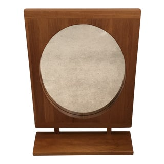 Pederson & Hansen Modern Teak Mirror For Sale