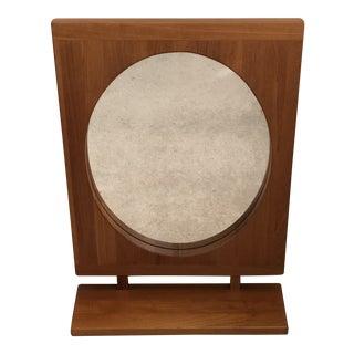 Pederson & Hansen Modern Teak Mirror For Sale