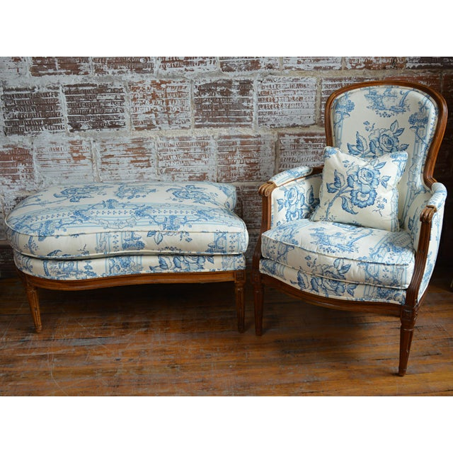 French Provincial Duchesse Brisée For Sale - Image 4 of 11