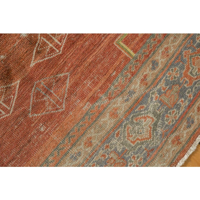 "Vintage Distressed Mahal Carpet - 6'5"" X 9'2"" For Sale - Image 9 of 13"