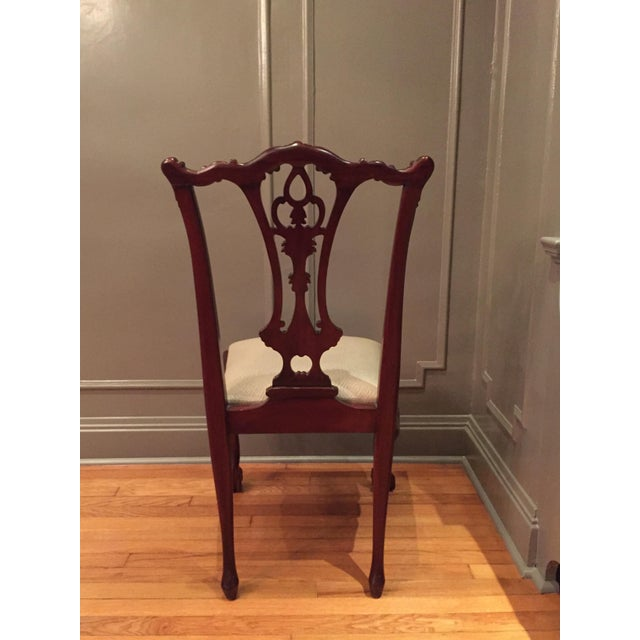 Vintage Chippendale Chairs - Set of 10 - Image 7 of 10