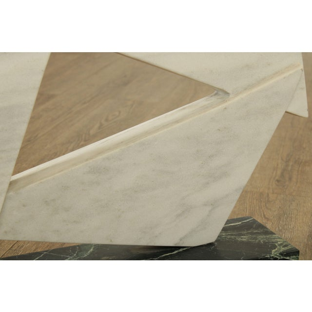 Richard H. Bailey Geometric Marble Sculpture For Sale - Image 10 of 13