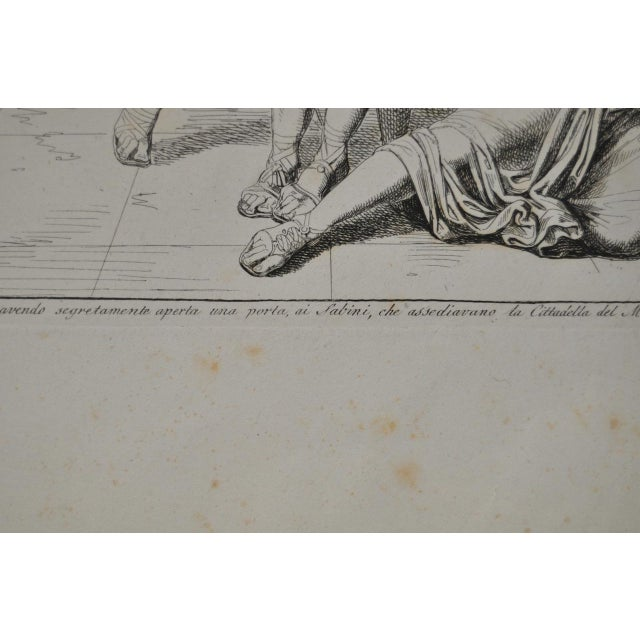 """Bartolomeo Pinelli Engraving """"Killed in Betrayal"""" c. 1818 For Sale - Image 5 of 7"""