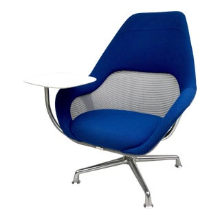 Vintage Mid Century Steelcase Coalesse Swivel Chair For Sale