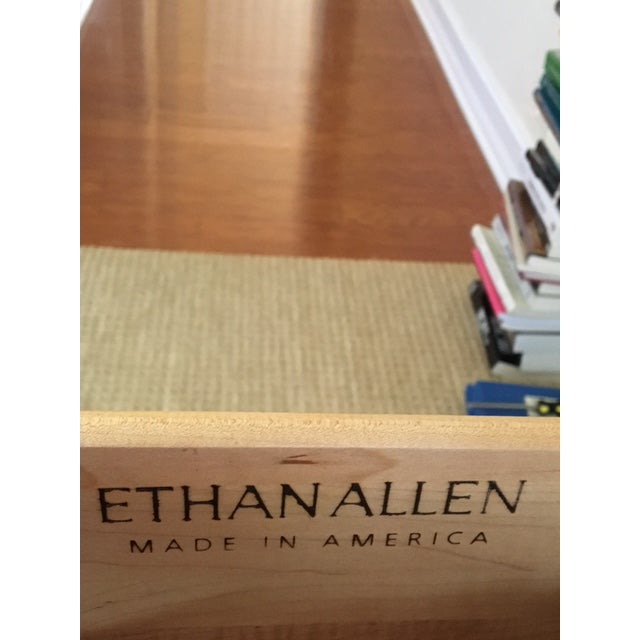 Ethan Allen Country Colors Collection Bookcase Chests- A Pair For Sale - Image 5 of 6