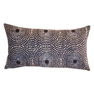 Sunburst Blue Indigo Pillow