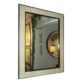 Custom Rectangular Shagreen Mirror For Sale