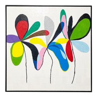 """Exclusive John O'Hara """"Fp 67, 2"""" Encaustic Painting"""