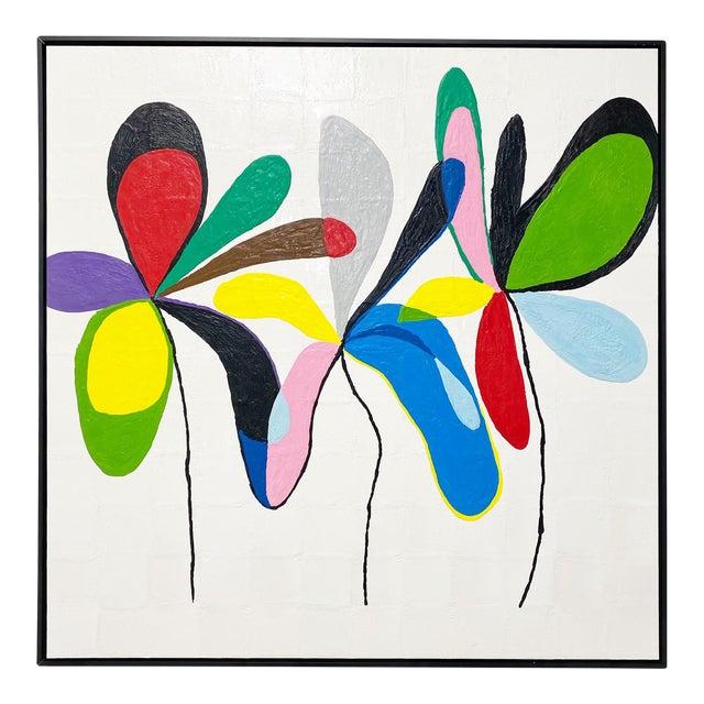 "Exclusive John O'Hara ""Fp 67, 2"" Encaustic Painting For Sale"