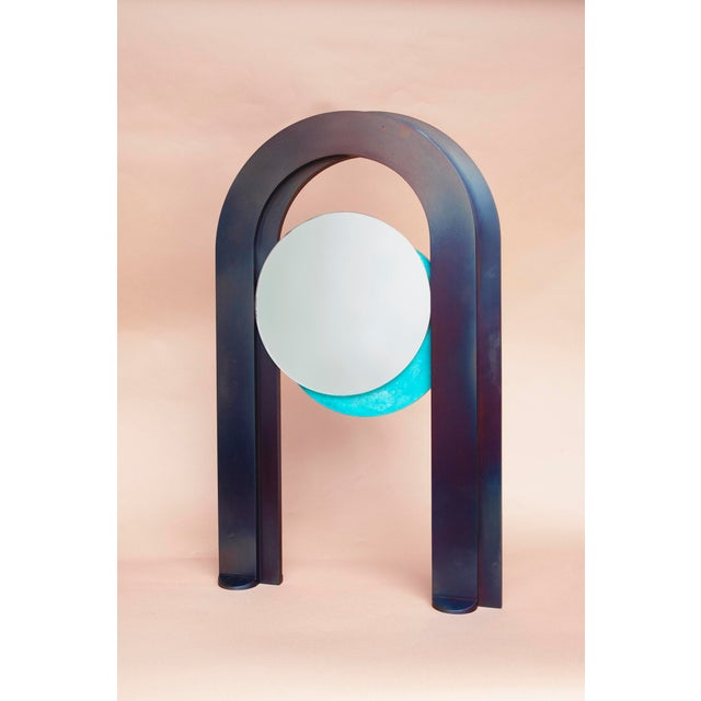 Early 21st Century Eclipse Mirror by Kin & Company For Sale - Image 5 of 5