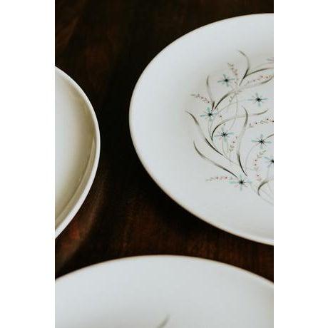 1960s Vintage Starburst Dinner Plates - Set of 4 For Sale - Image 4 of 7