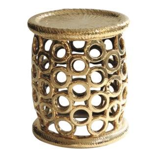 Tucker Robbins Porcelain Bangle Side Table For Sale