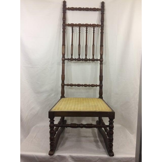Napoleon III High Back Spindle Chair - Image 8 of 8
