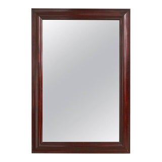 French 19th Century Mahogany Framed Mirror For Sale