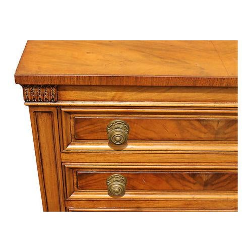 1960's Neoclassical Style Nightstands - A Pair - Image 4 of 8