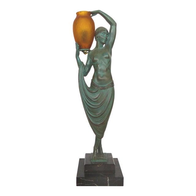 Art Deco Sculpture by Pierre LeFaguay For Sale
