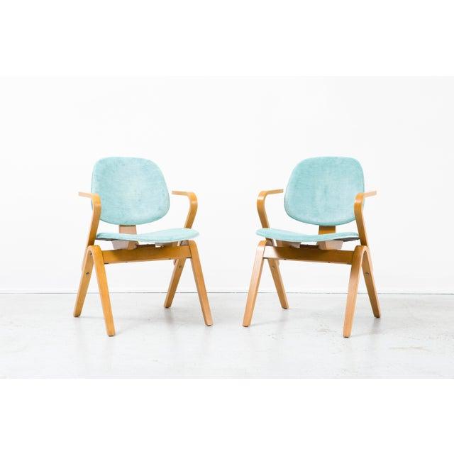 Set of Joe Atkinson Chairs - Image 3 of 11