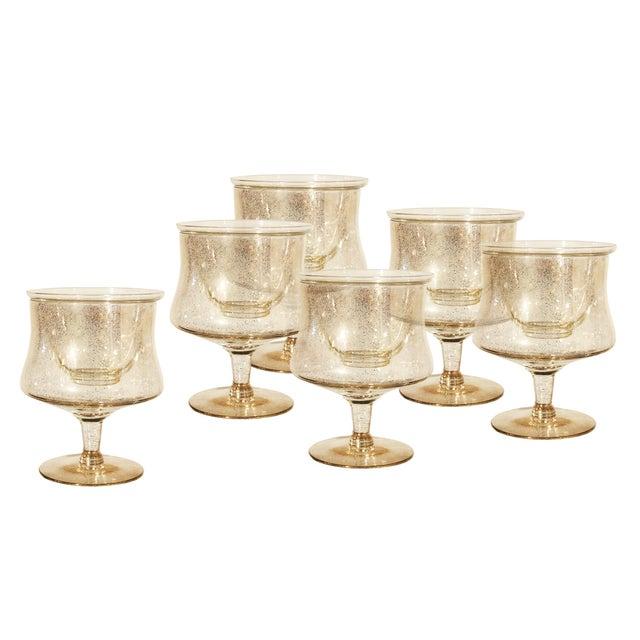 Dorothy Thorpe Shrimp Cocktail Glasses - Set of 6 - Image 1 of 7