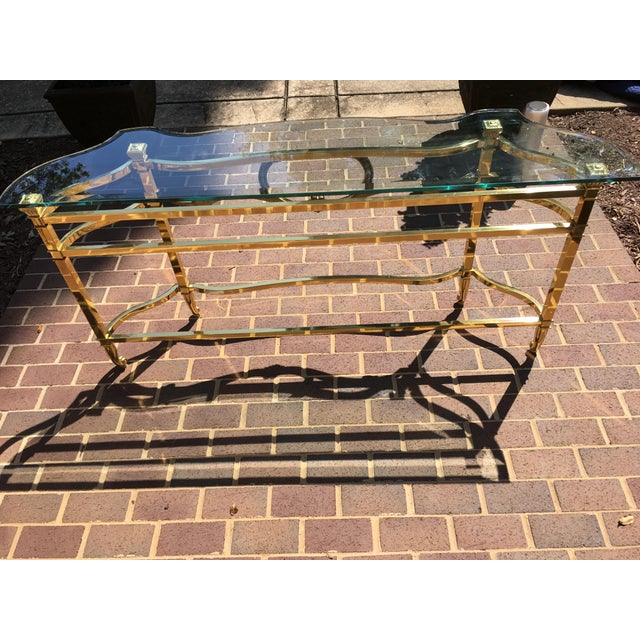 LaBarge Sofa Table For Sale - Image 10 of 10