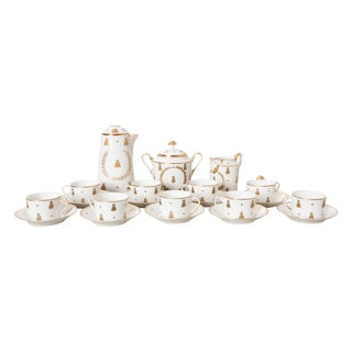 French 18th Century Sèvres Porcelain Hot Chocolate Set For Sale