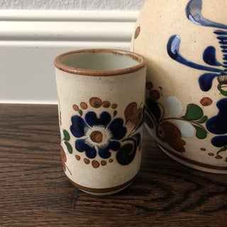 Vintage Mexican Water Jug and Cup Set - 2 Piece Preview