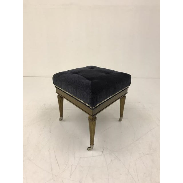 Transitional Thomas O'Brien Cantara Diamond Ottoman for Century Furniture For Sale - Image 3 of 3