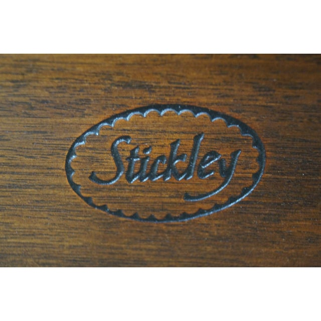 Stickley Solid Mahogany Twin Size Headboards - A Pair - Image 7 of 9