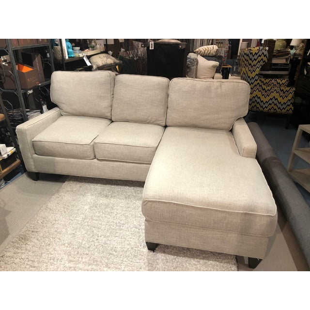 From industry leader CR Laine Furniture, this smaller scaled sectional is perfect for city condos, studio apartments, or...