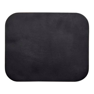 Leather Double Sided Mouse Pad in Black & Green For Sale