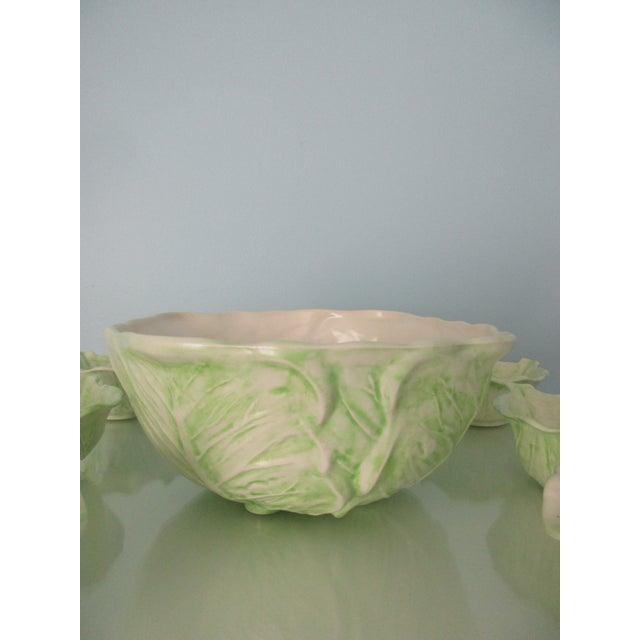 1970s Cabbage Ware - Set of 7 For Sale - Image 4 of 12