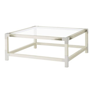 Modern Faux Horn Coffee Table For Sale