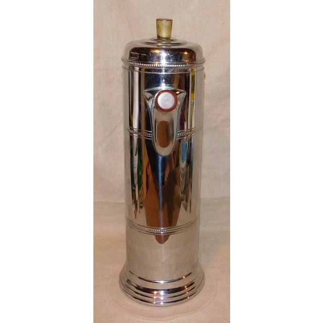 Mid-Century Modern 1950s Vintage Krome-Kraft Cocktail Shaker For Sale - Image 3 of 8