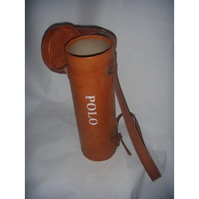 Leather Polo Balls Bag - Image 4 of 6