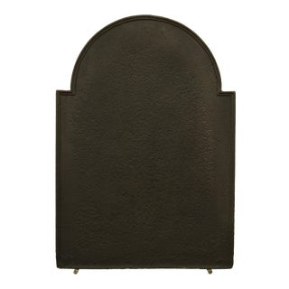 Antique Fireback, Simple But Elegant, 19th Century For Sale