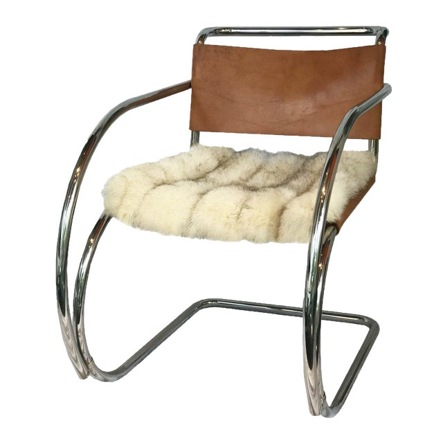 Mies Van Der Rohe Mr Chair With Arms Chairish