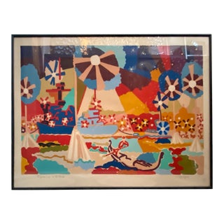 Charles Lapicque Signed Artist's Proof Lithograpgh For Sale