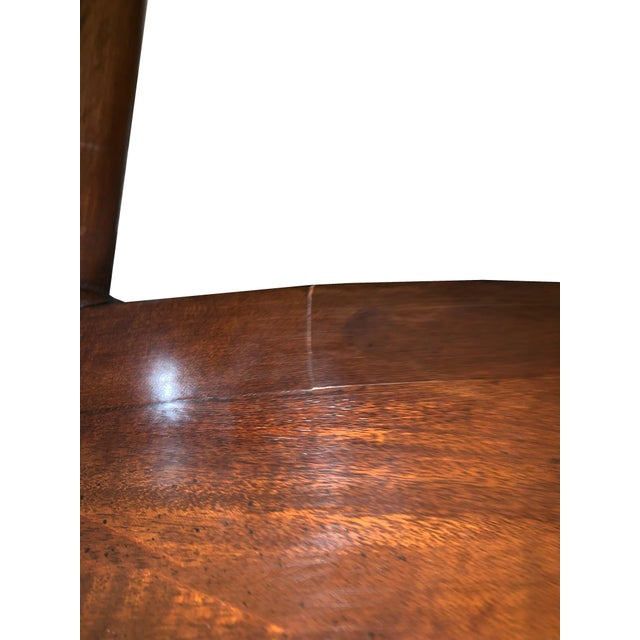 1900 - 1909 1900s Vintage Brandt Wood Inlay Accent Chair For Sale - Image 5 of 6