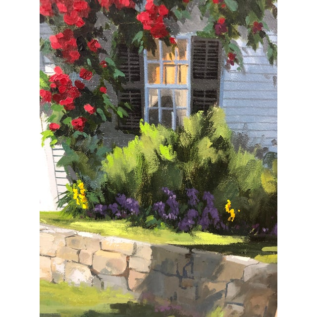 Traditional Traditional Sunny Afternoon Original Painting by Line Tutwiler For Sale - Image 3 of 11