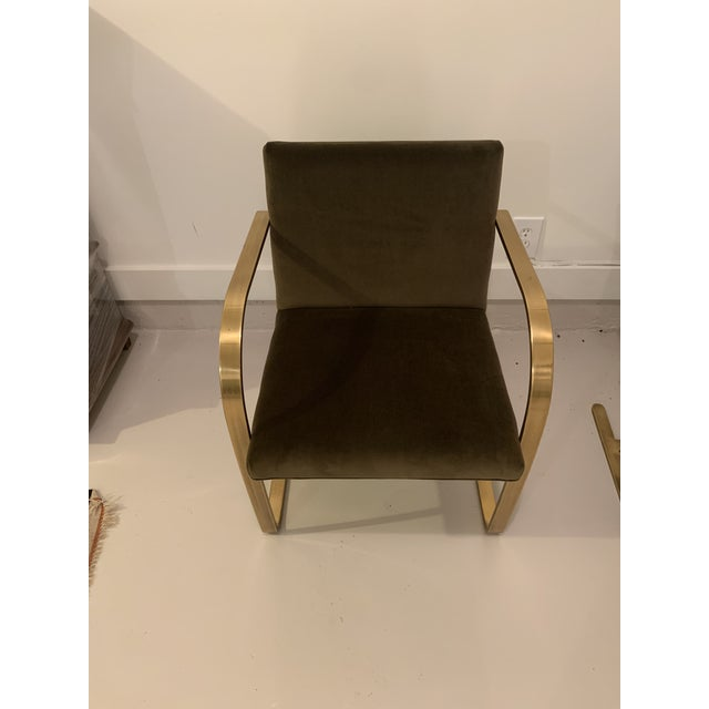 1970s 1970s Vintage Brass Brno Chairs- a Pair For Sale - Image 5 of 13