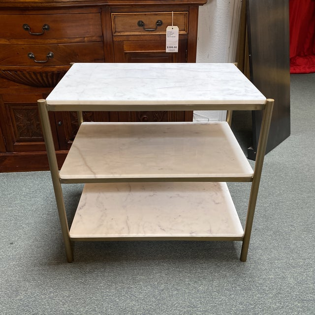 New Alder & Tweed Hollywood End Table For Sale - Image 11 of 11