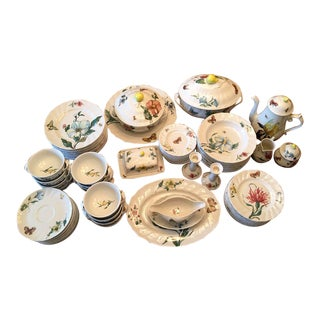 Villeroy & Boch Bouquet Pattern Dinnerware - Service for 12 For Sale