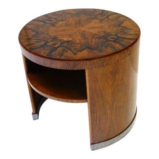 Art Deco Burr Walnut Coffee Table For Sale
