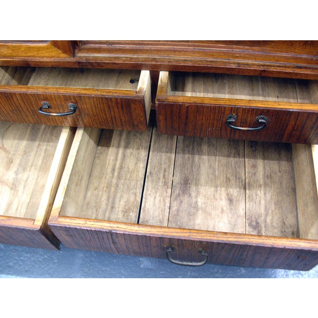 Reserved 19th Century Small Japanese Tansu Cabinet For Sale - Image 10 of 12