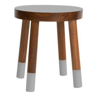 Poco Kids Chair in Walnut With Gray Finish For Sale
